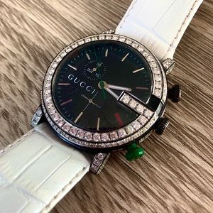 Gucci Watch G Chrono 4.5CT Diamonds Appraisal